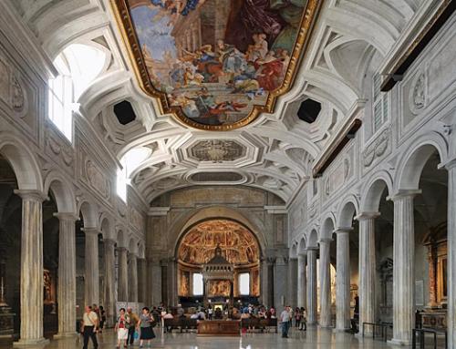 サンピエトロ・イン・ヴィンコリの教会